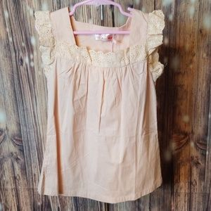 Other - New kids pink tunic top